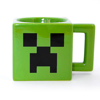 Minecraft Creeper Face Mug