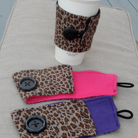 Leopard Coffee Coozie