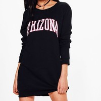 Georgie Arizona Sweater Dress | Boohoo