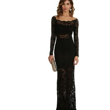 Ariah-black Formal Dress