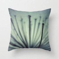 Giant Hogweed Throw Pillow by Christian Solf