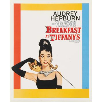 Breakfast At Tiffany's Domestic Poster
