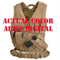 Cross Draw Tactical Vest - Color: Army Digital