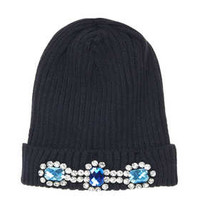 Heavy Embellished Beanie - New In This Week  - New In