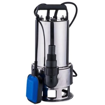 4300GPH 1.5HP Submersible Stainless Steel Dirty Water Pump Swimming Pools Drain