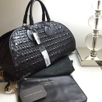 NEW PROENZA SCHOULERBlack Toshi Wovn Leather Bag