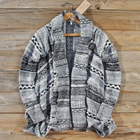 North Frost Knit Sweater in Black