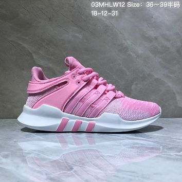 HCXX A551 Adidas EQT Cushion ADV Mesh Knit Fashion Running Shoes Pink
