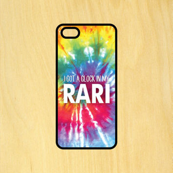 Fetty Wap In My Rari Tie Dye Art iPhone 4/4S 5/5C 6/6+ and Samsung Galaxy S3/S4/S5 Phone Case