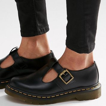 Dr Martens Core Polley T-Bar Flat Shoes at asos.com