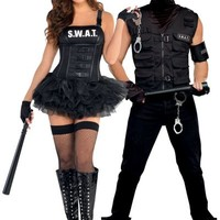 SWAT Couples Costumes- Party City