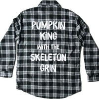 Pumpkin King Flannel