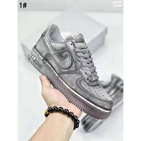 Nike Air Force 1 Classic Popular Women Men Leisure High Top And Low Top Sport Running Shoes Sneakers 1#