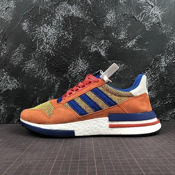 Dragon Ball Z x Adidas ZX 500 RM Orange | D97046 Sport Running Shoes