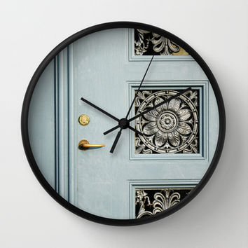 Doorway Wall Clock by Kayleigh Rappaport