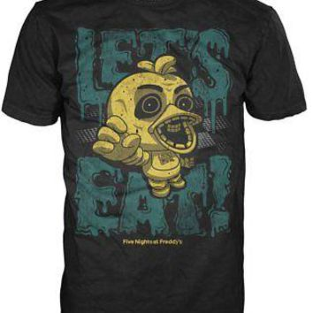 Funko Pop Tees: Five Nights At Freddy's - Let's Eat (Youth Medium)