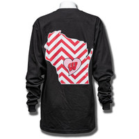 JanSport Women's Chevron WI Long Sleeve T-Shirt (Black) | University Book Store