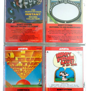 MoNTY PYTHoN cassette tape LoT vintage comedy cassettes instant collection