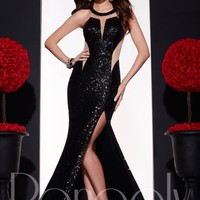 Panoply Fitted Sequins Dress 14677