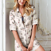 Dreamer Flannel Sleepshirt - Victoria's Secret