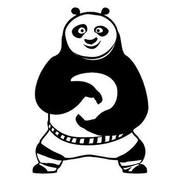Kung Fu Panda 1  Vinyl Car/Laptop/Window/Wall Decal