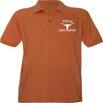 Texas Longhorns Burnt Orange Cross Country Polo Shirt
