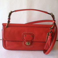 "COACH LEATHER CROSSBODY BAG RETAIL 298.00 ""NWT"""