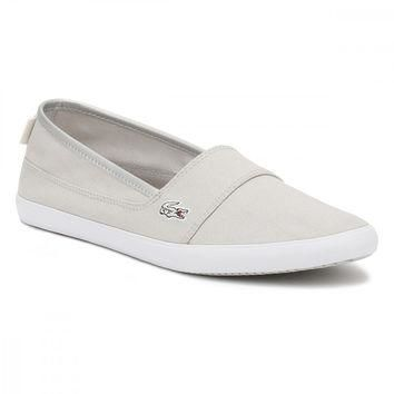 Lacoste Womens Light Grey Marice 217 2 CAW Trainers