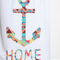 Bianca Green For DENY You Make Me Home Shower Curtain - Urban Outfitters