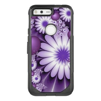 Falling in Love Abstract Flowers & Hearts Fractal OtterBox Commuter Google Pixel Case