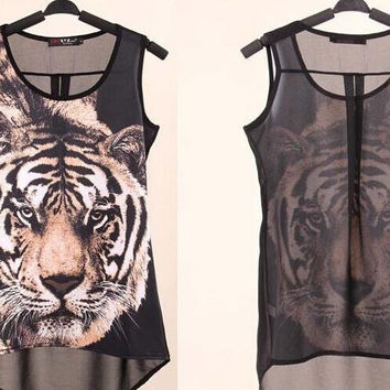 Brand New Awesome Tigar Tee, So Cool & Sexy! All Sizes
