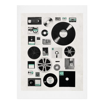 Florent Bodart Data Art Print