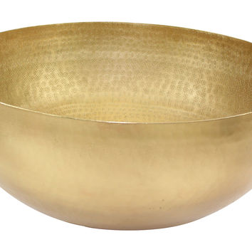 Elegant Brass Large Centerpiece, Decorative Bowls & Centerpieces