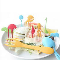 Animal Zoo Spoon/Fork 10 Piece Set