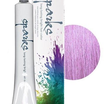 Sparks Long-lasting Bright Permanent Hair Color Lala Lavender 3 oz