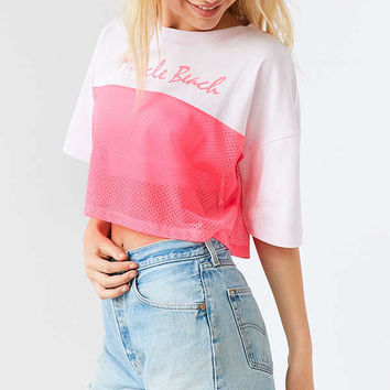 BDG California Mesh Tee | Urban Outfitters