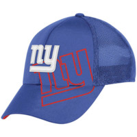 Reebok New York Giants Royal Blue Epic Structured Mesh Flex Hat