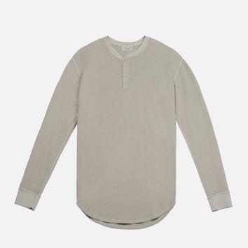 LS Flatback Thermal Henley / Clay