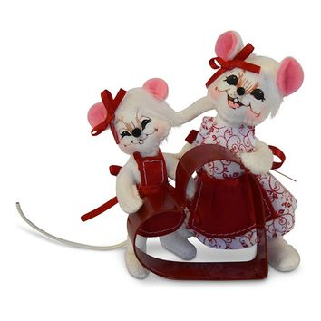 Annalee Dolls 5in 2018 Baking Buddies Mouse Plush New with Tags