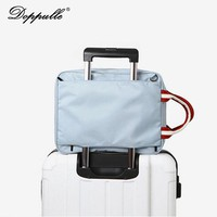 DOPPULE Brand Style Planes Totes Large Capacity Handbag Boarding Waterproof Bag Folding Duffle Luggage Shoulder Man Travel bag
