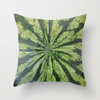 watermelon Throw Pillow by RichCaspian