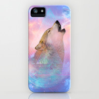 Dream By Day (Wolf Dreams Remix) iPhone & iPod Case by soaring anchor designs ⚓