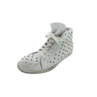 Steve Madden Womens Twynkle Suede Studded Fashion Sneakers