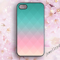Pastel iPhone 5 Case,Pastel iPhone 5S Case,Ombre iPhone 5c,geometry iPhone 4/4S Case,Blue Pink Gradient Pastel samsung galaxy s3 s4 s5 case