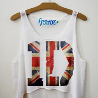 1D British Flag Union Jack Fresh Tops Crop Top | fresh-tops.com