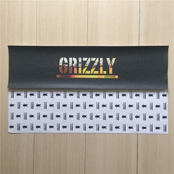 "Grizzly 9""X33"" 84cmx23cm Skateboard Deck Griptape Hard-Wearing Sandpaper"