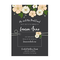 Bold Floral Wedding Invitation Collection