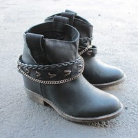 coolway - caliope grain leather western-inspired ankle boots