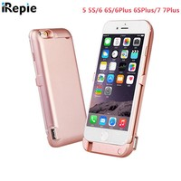10000 mah Power bank Battery Charger Case External Backup Cover Smart Charging Case for apple iphone 5 5S 5G 6 6S 6Plus 7 7plus