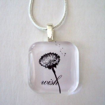 A Simple Wish Pendant